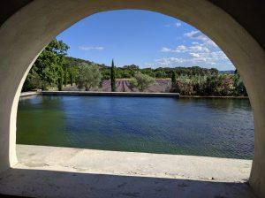 Vue sur le Parc, lieu idéal pour organiser la cérémonie de votre mariage dans la Drôme