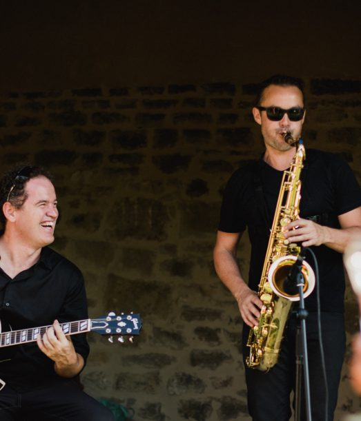 Groupe jazz cocktail en duo