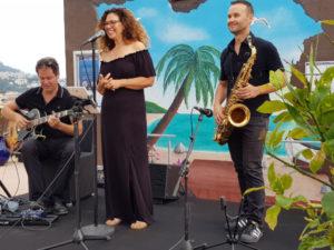 Le Groupe en Formation Trio Jazz, Soirée d'entre prise Nice