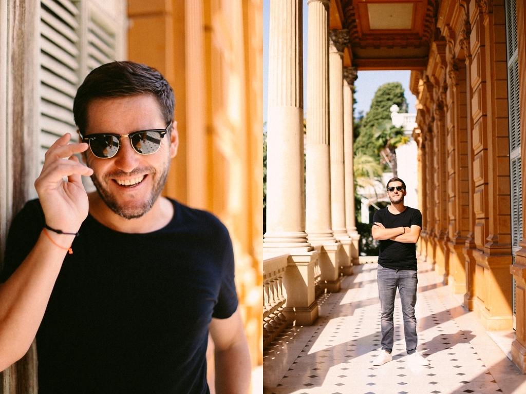 Auto portrait de Gaétan Gaumy