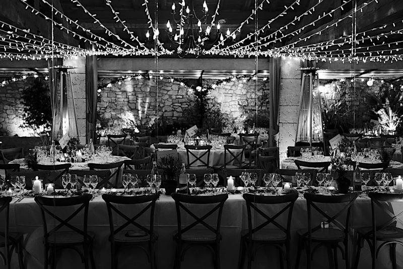 Comment choisir votre groupe de musique de mariage, le placement du groupe dans la salle de repas de noces